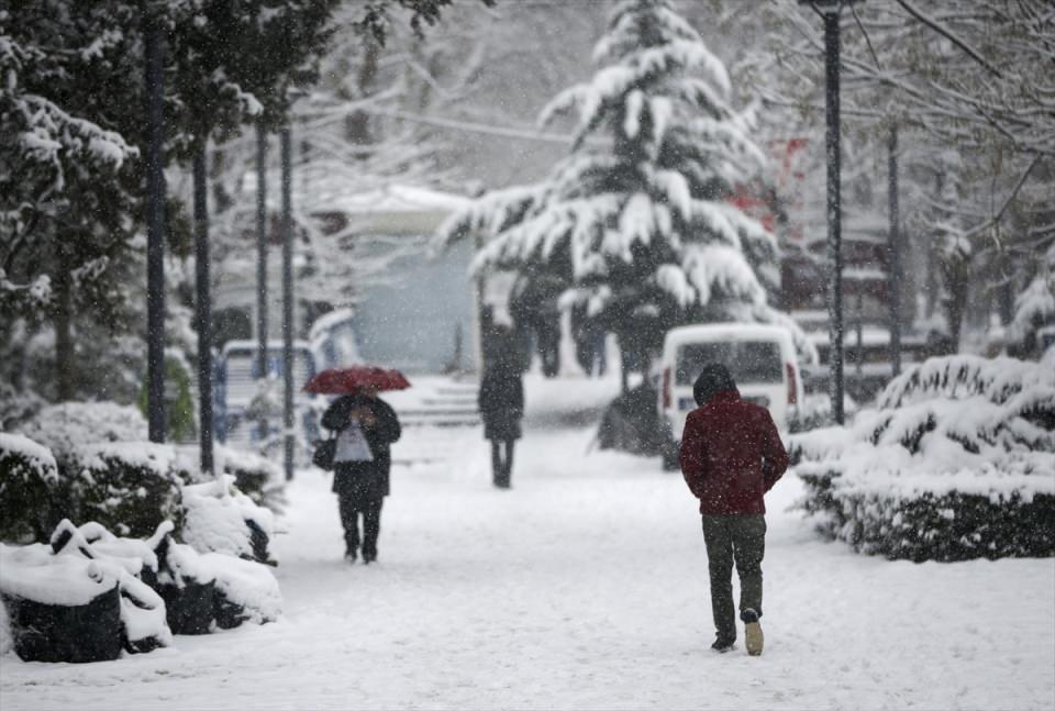 Türkiye'den kar manzaraları 23