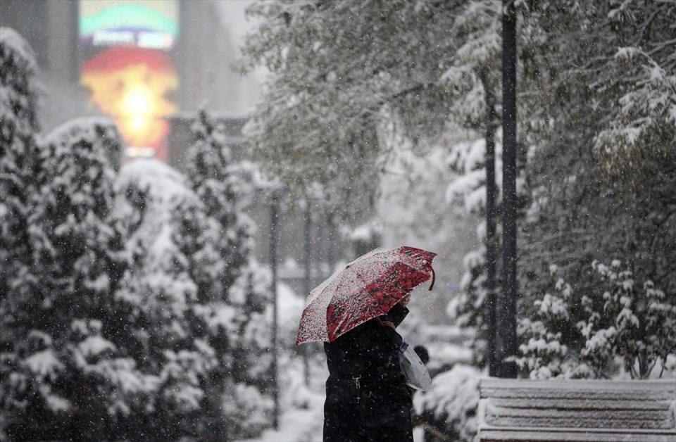 Türkiye'den kar manzaraları 24