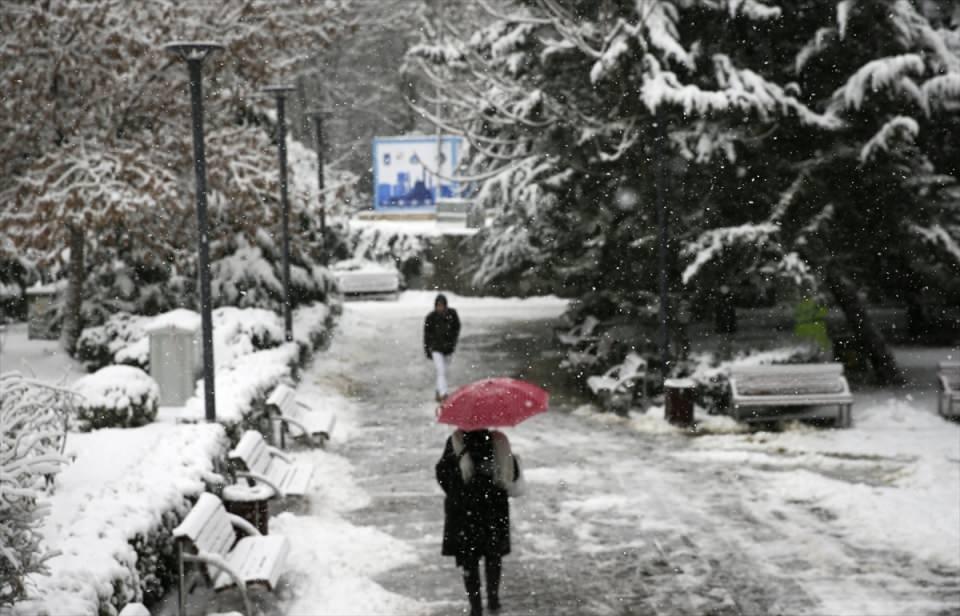 Türkiye'den kar manzaraları 25