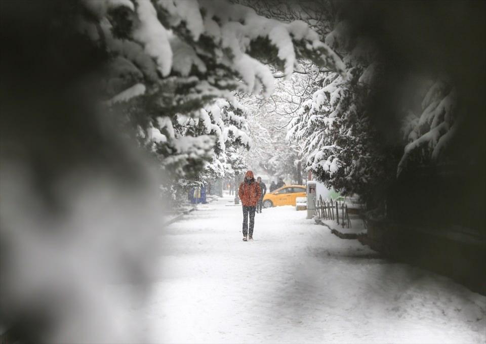 Türkiye'den kar manzaraları 28