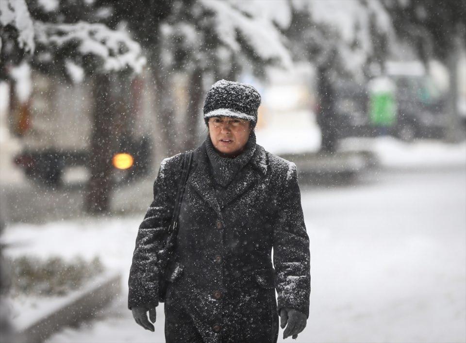Türkiye'den kar manzaraları 29