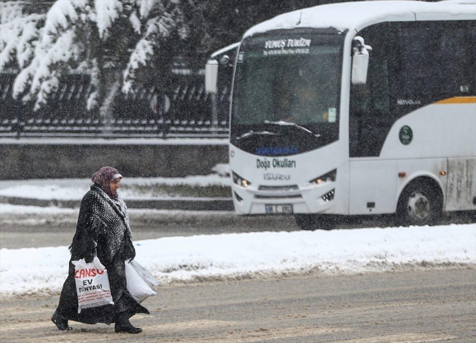 Türkiye'den kar manzaraları 31