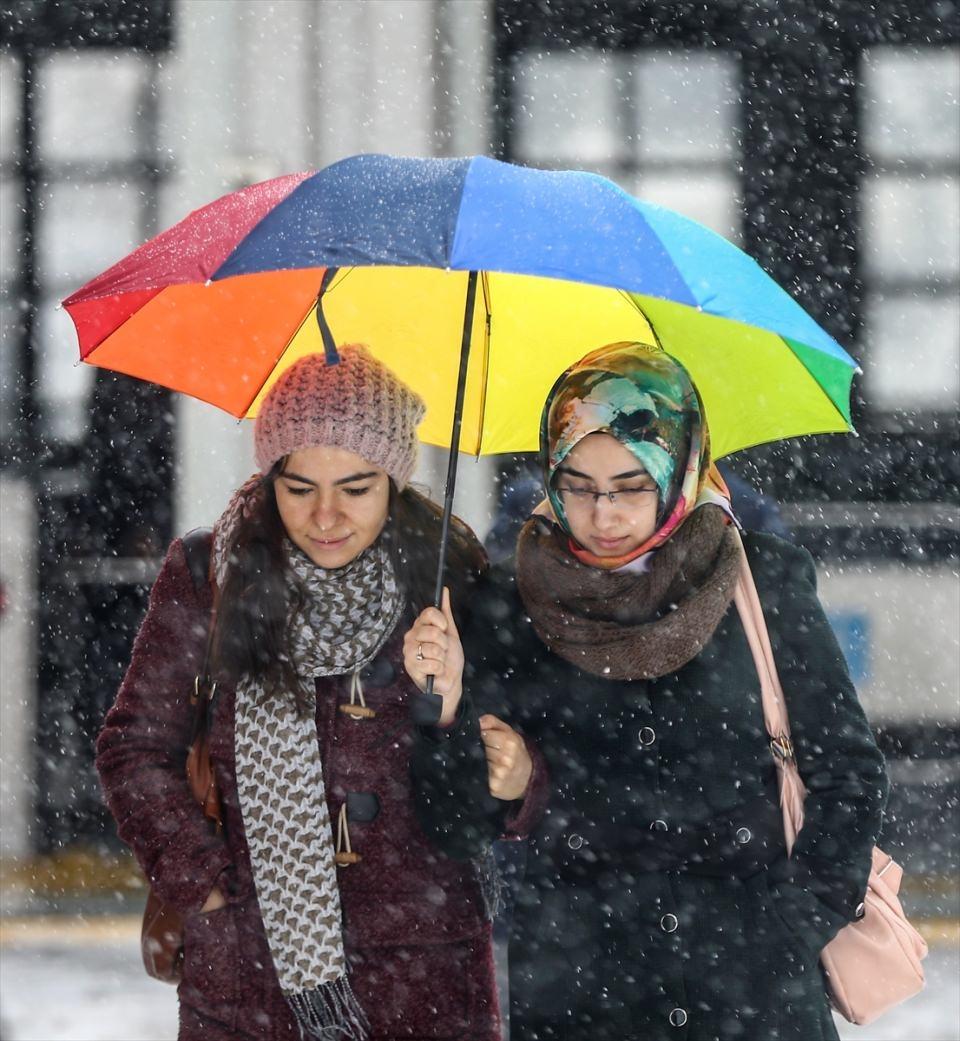 Türkiye'den kar manzaraları 32