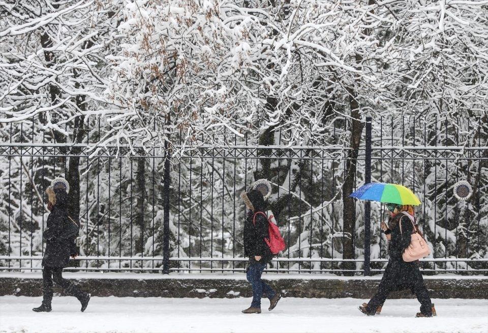 Türkiye'den kar manzaraları 33