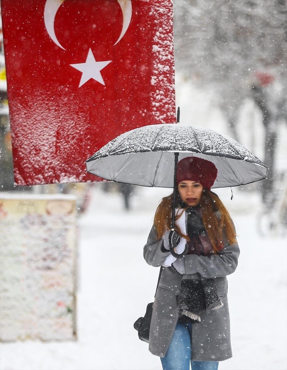 Türkiye'den kar manzaraları 34