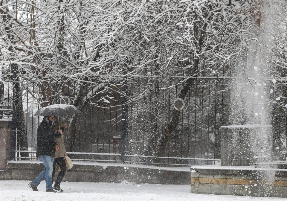 Türkiye'den kar manzaraları 35