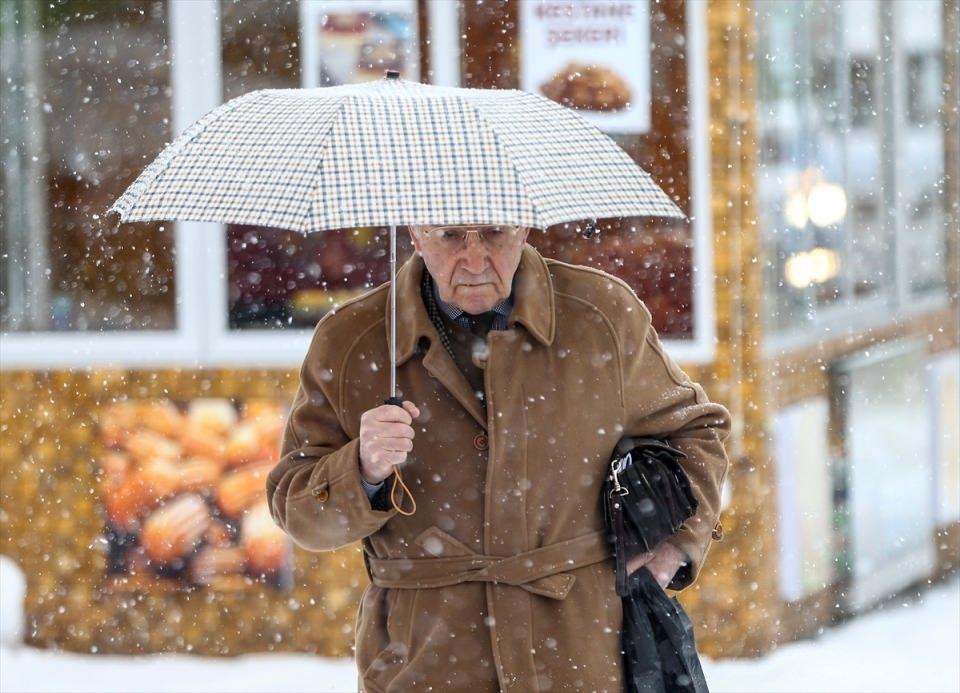 Türkiye'den kar manzaraları 36