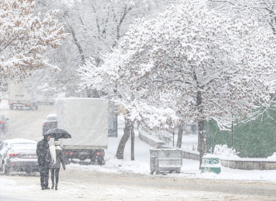 Türkiye'den kar manzaraları 37