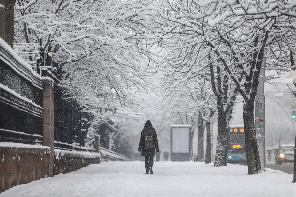 Türkiye'den kar manzaraları 39