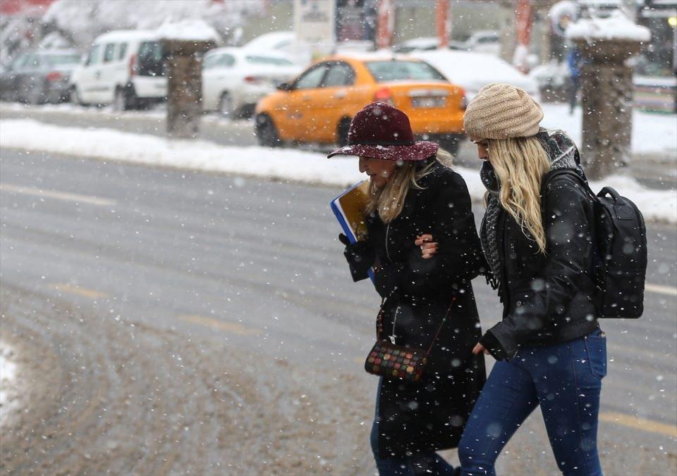 Türkiye'den kar manzaraları 41