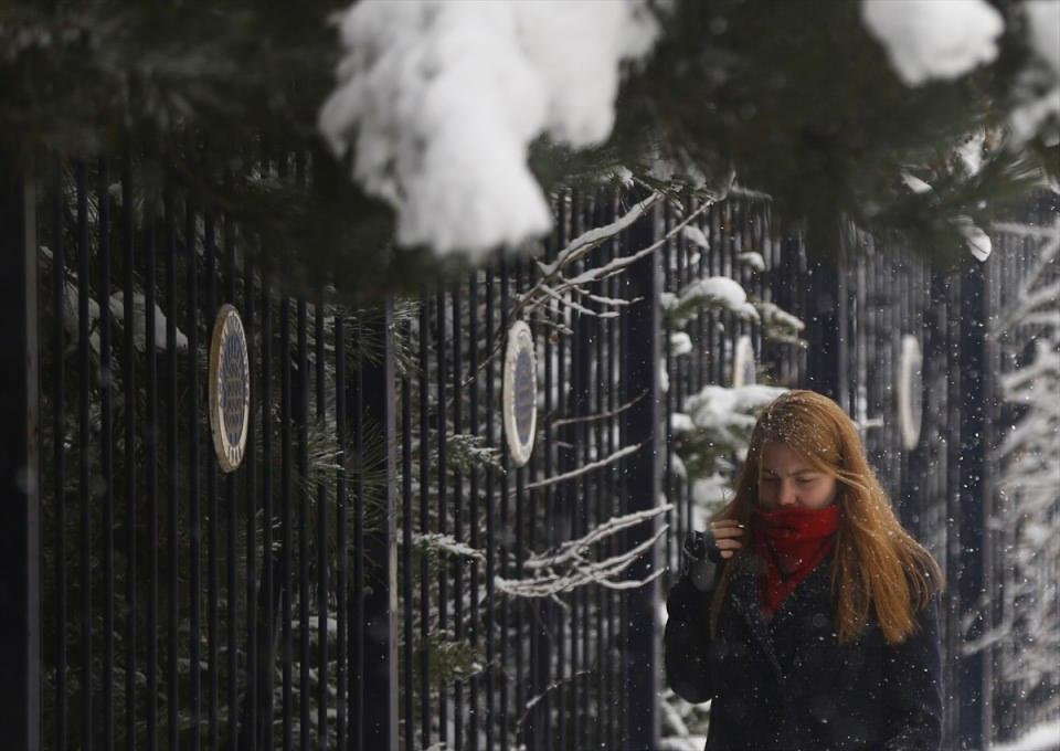 Türkiye'den kar manzaraları 42