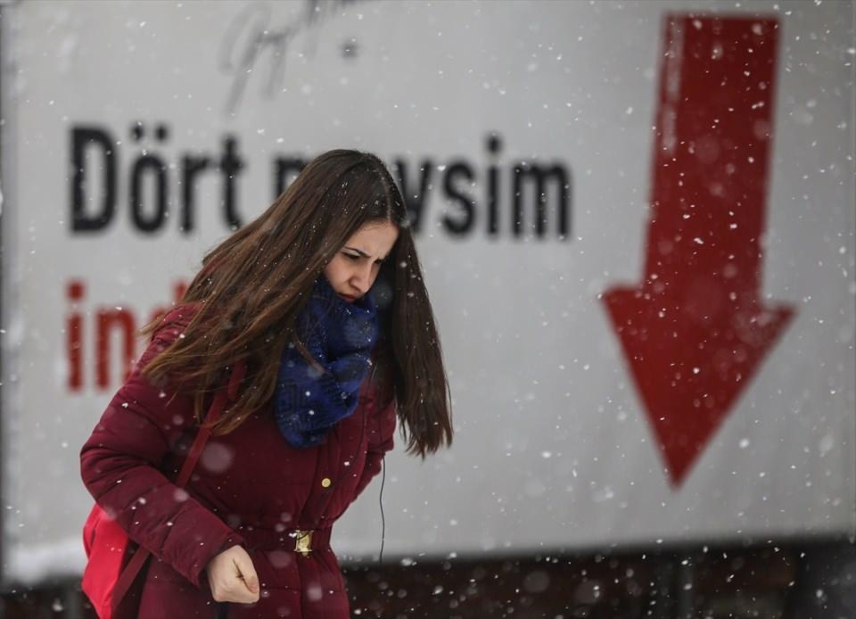 Türkiye'den kar manzaraları 43