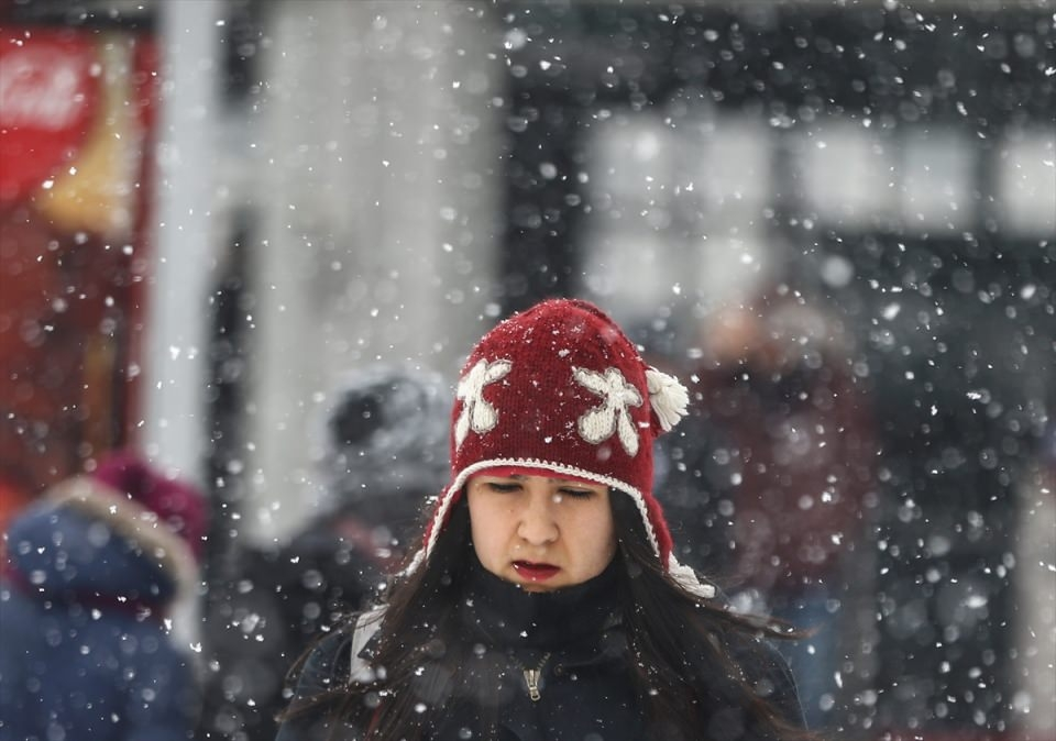 Türkiye'den kar manzaraları 44