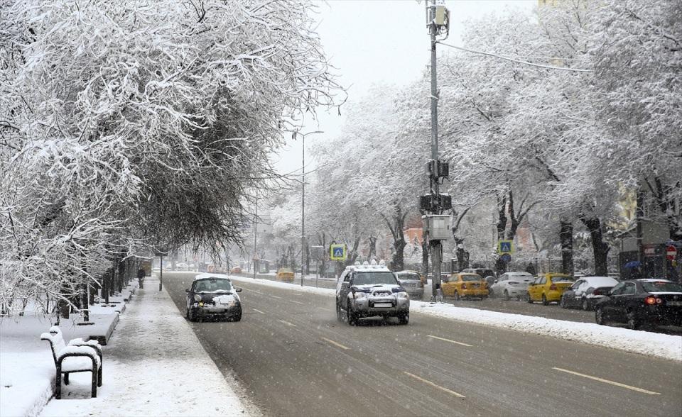Türkiye'den kar manzaraları 45