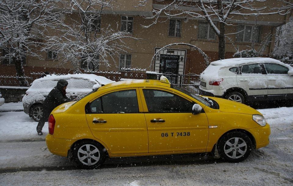 Türkiye'den kar manzaraları 46