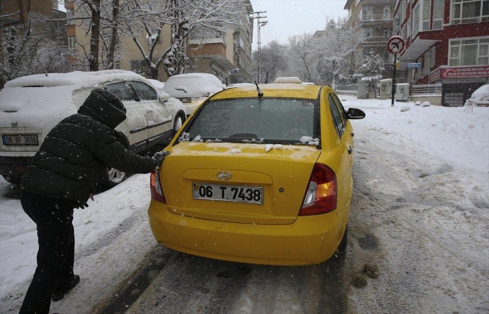 Türkiye'den kar manzaraları 47