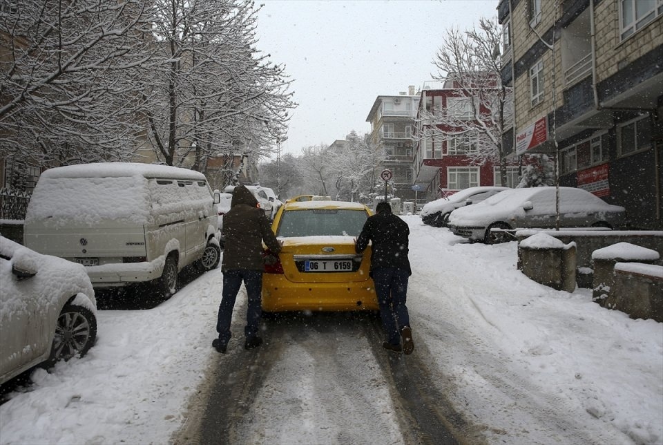 Türkiye'den kar manzaraları 48