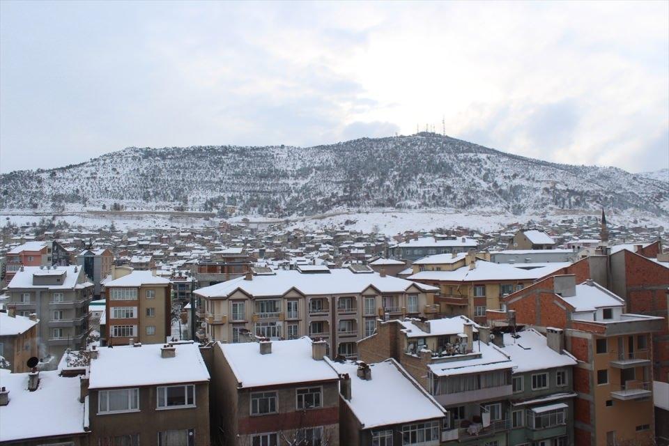 Türkiye'den kar manzaraları 5