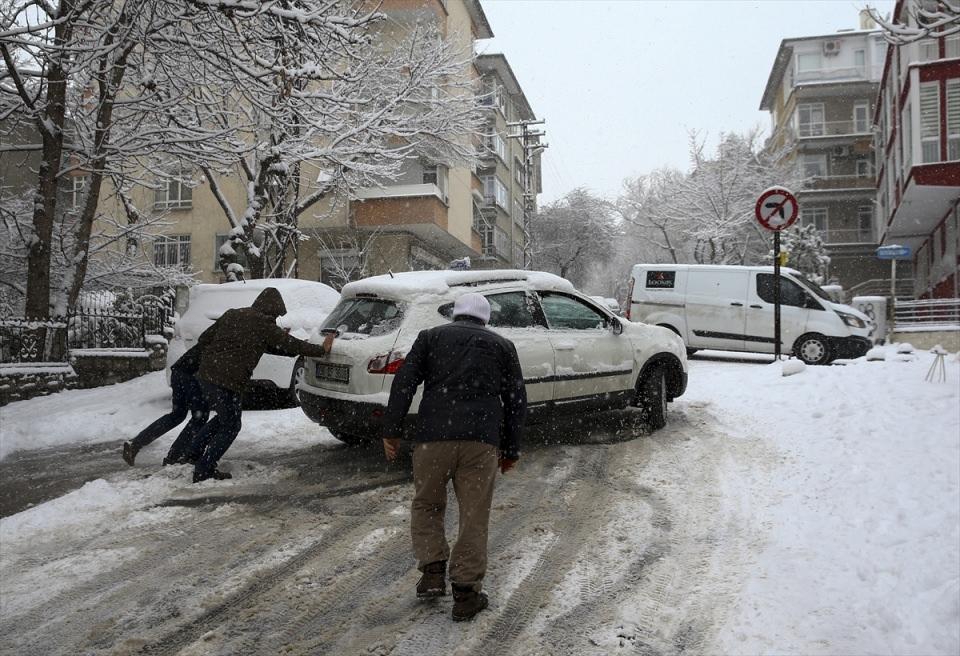 Türkiye'den kar manzaraları 50