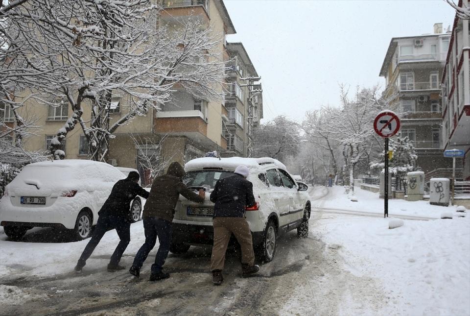 Türkiye'den kar manzaraları 51