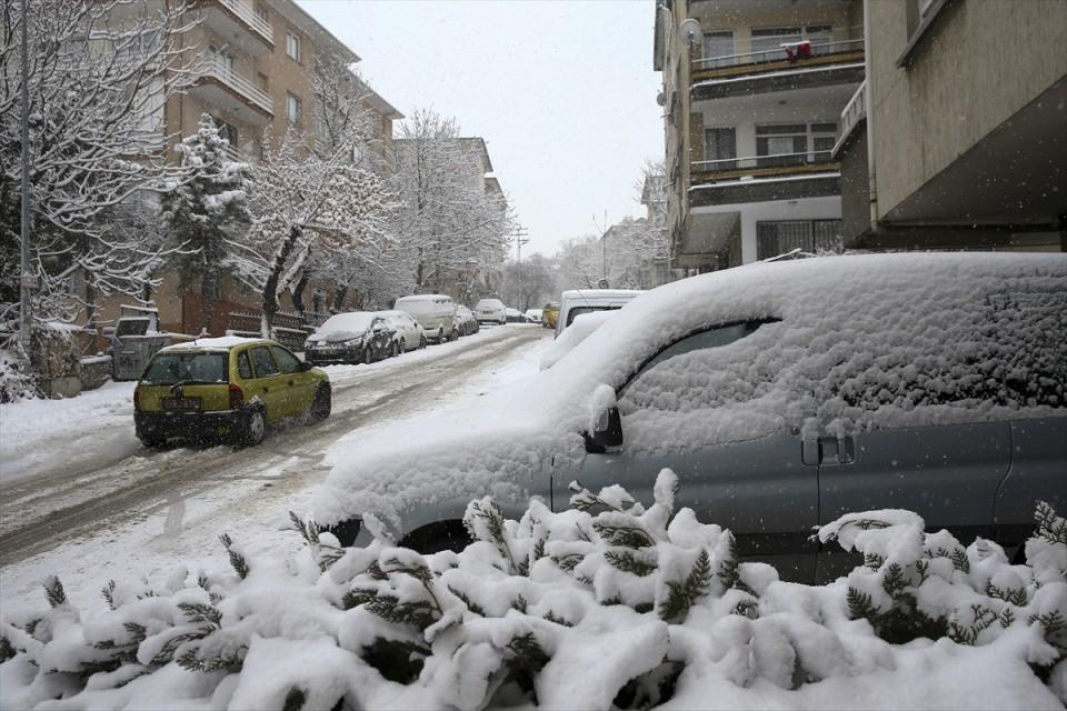 Türkiye'den kar manzaraları 52