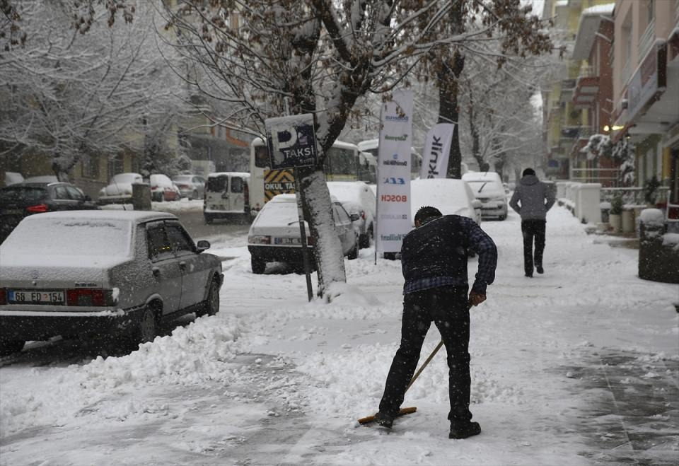Türkiye'den kar manzaraları 53