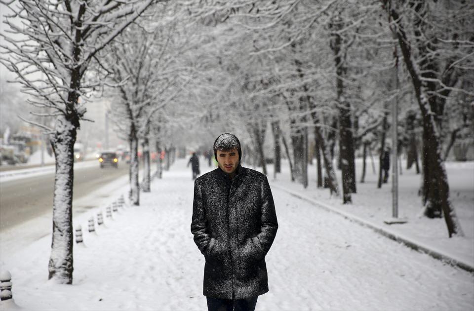 Türkiye'den kar manzaraları 55