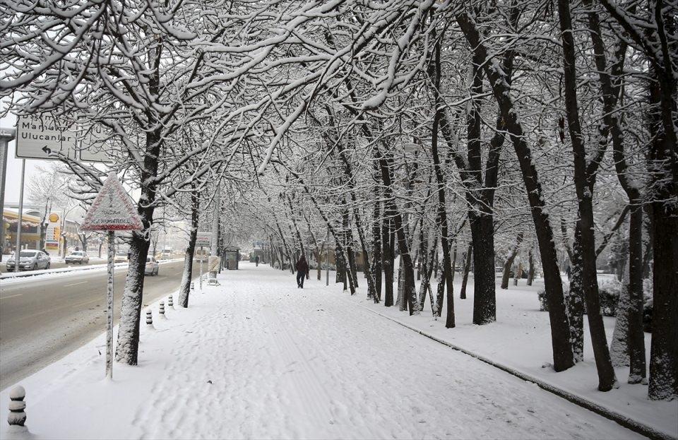 Türkiye'den kar manzaraları 56