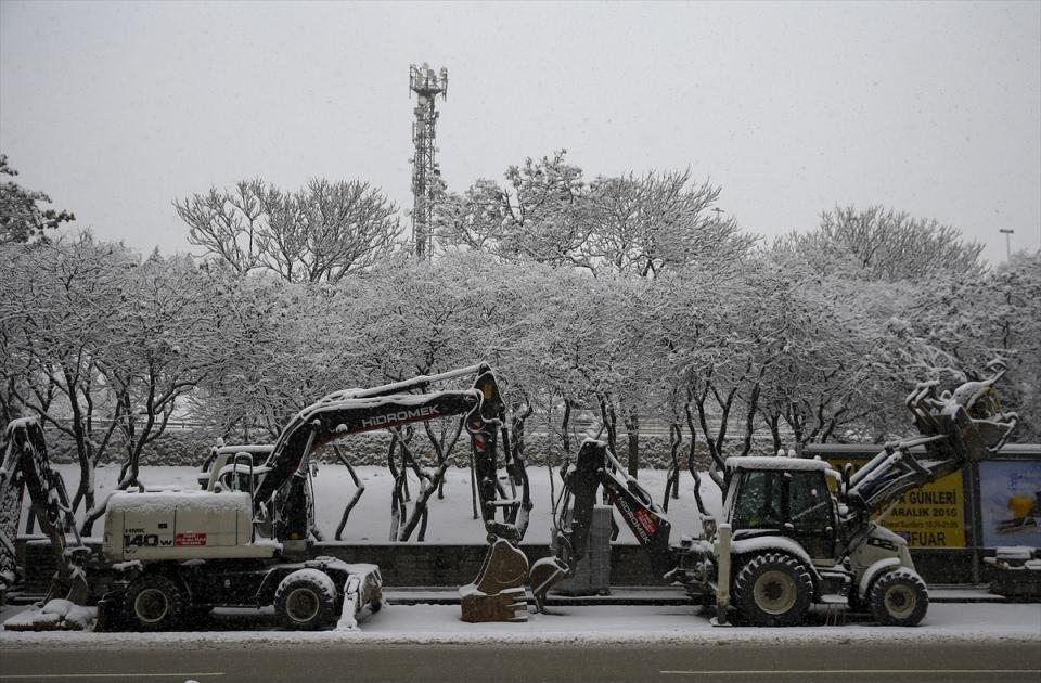Türkiye'den kar manzaraları 57