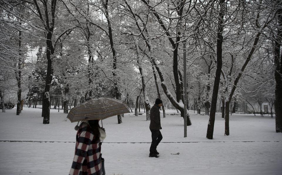 Türkiye'den kar manzaraları 58