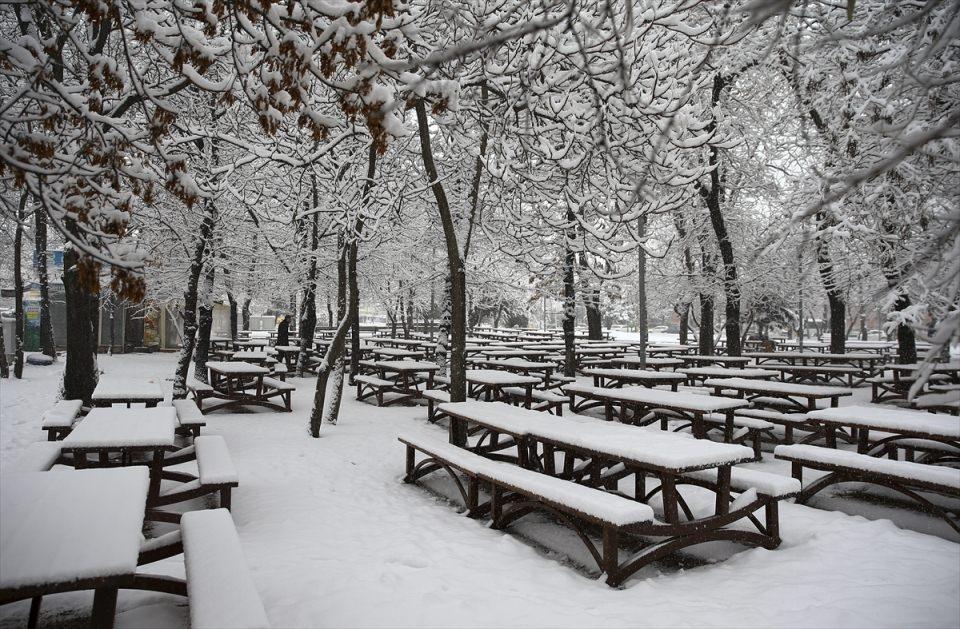 Türkiye'den kar manzaraları 59