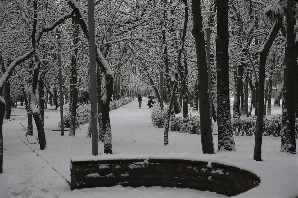 Türkiye'den kar manzaraları 63