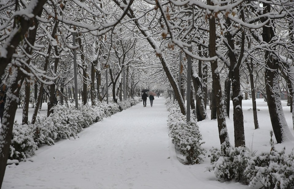 Türkiye'den kar manzaraları 64