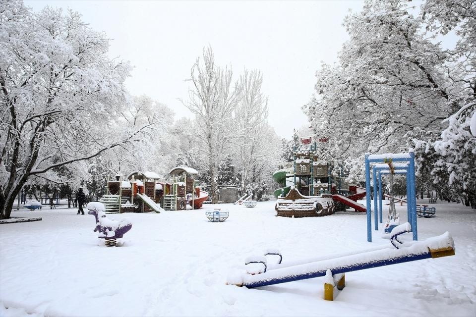Türkiye'den kar manzaraları 66