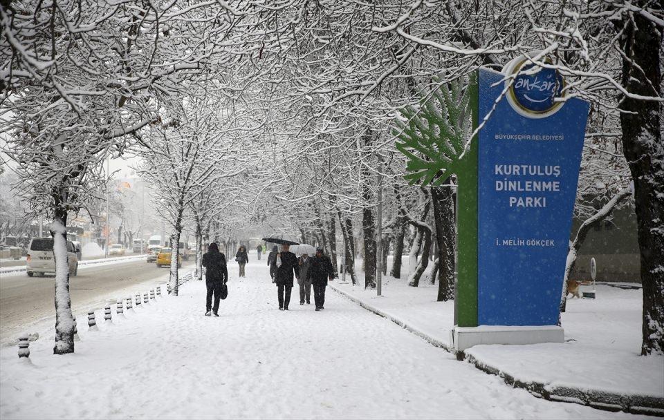 Türkiye'den kar manzaraları 67