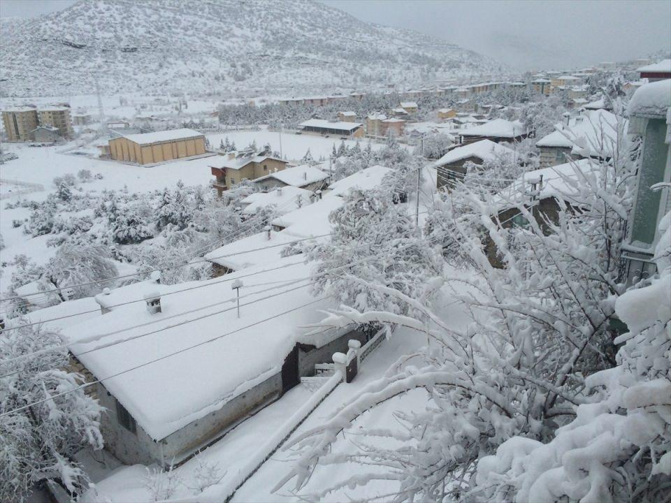 Türkiye'den kar manzaraları 70