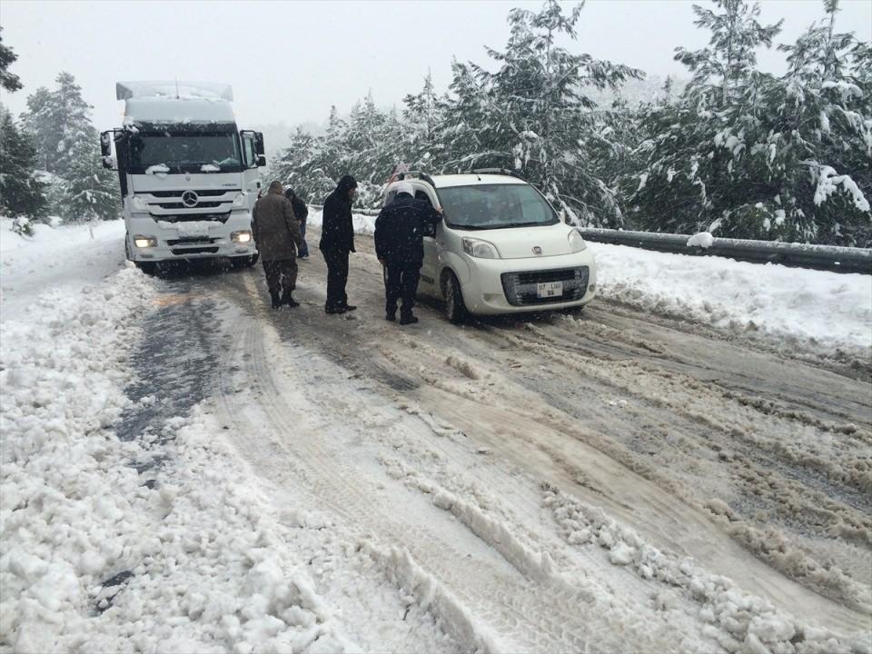 Türkiye'den kar manzaraları 71