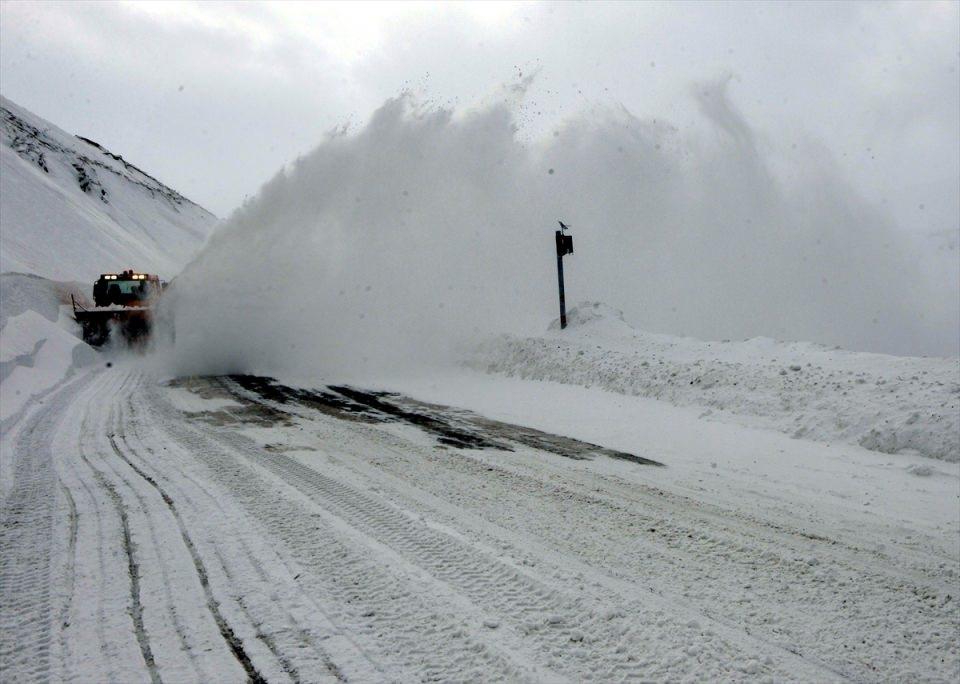 Türkiye'den kar manzaraları 72
