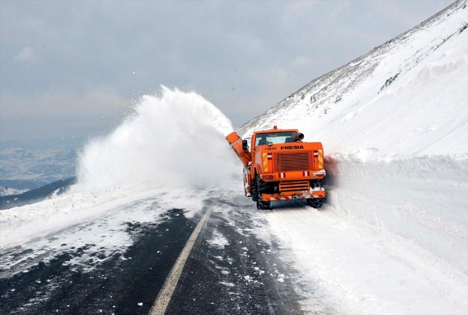 Türkiye'den kar manzaraları 73