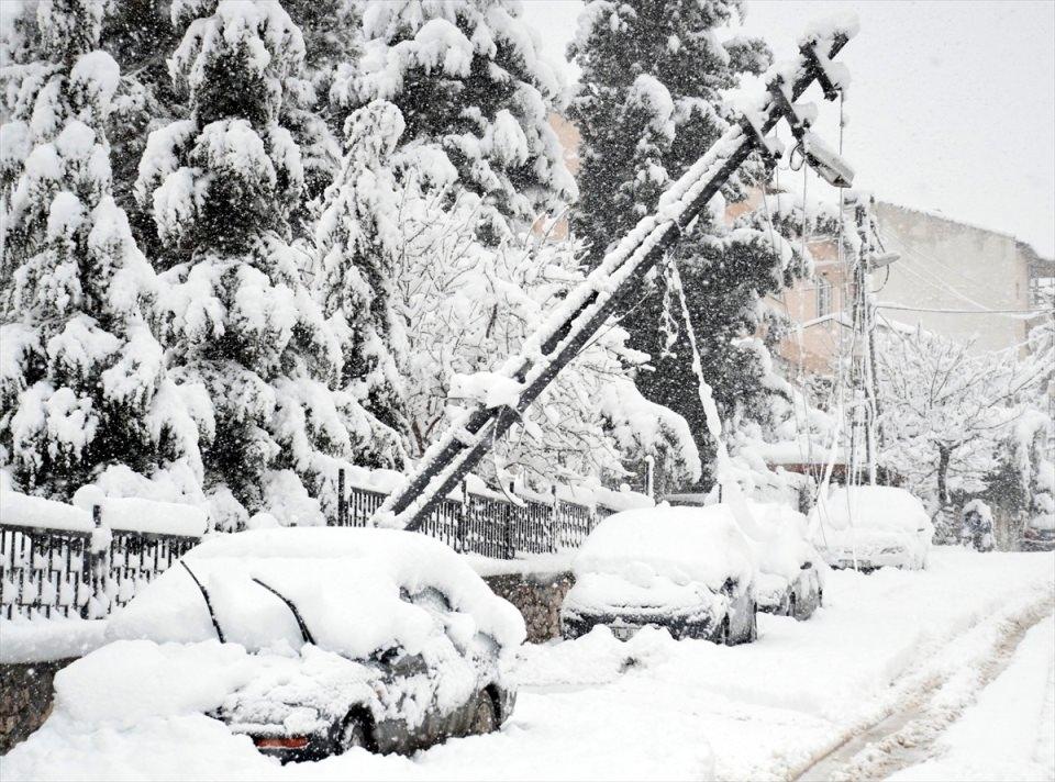 Türkiye'den kar manzaraları 75