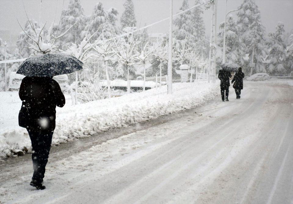 Türkiye'den kar manzaraları 76