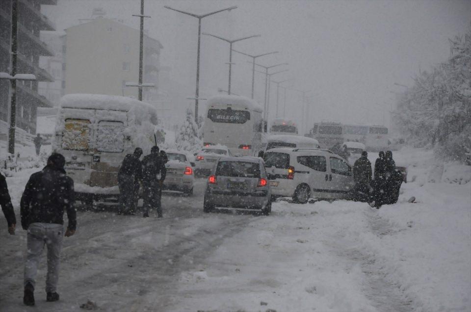Türkiye'den kar manzaraları 77