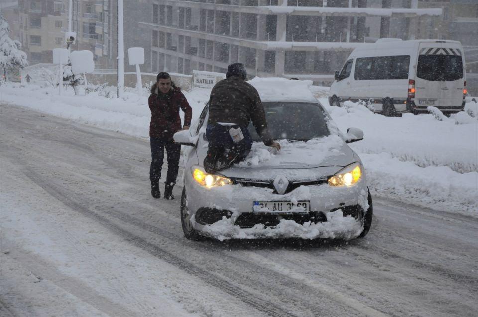 Türkiye'den kar manzaraları 79