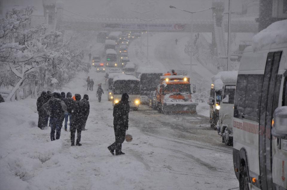 Türkiye'den kar manzaraları 82