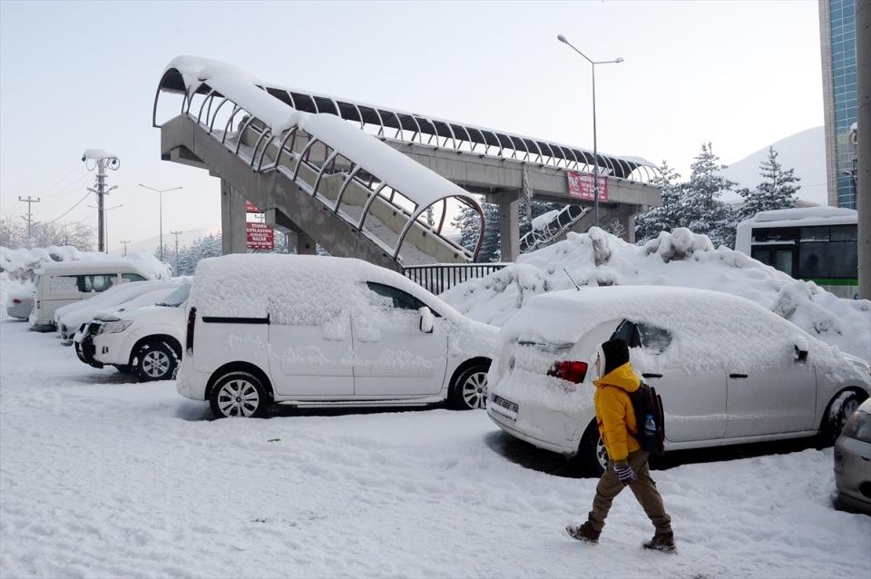 Türkiye'den kar manzaraları 83