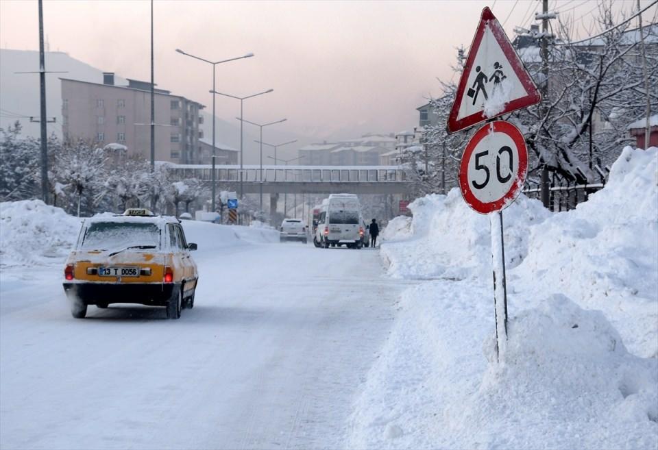 Türkiye'den kar manzaraları 84