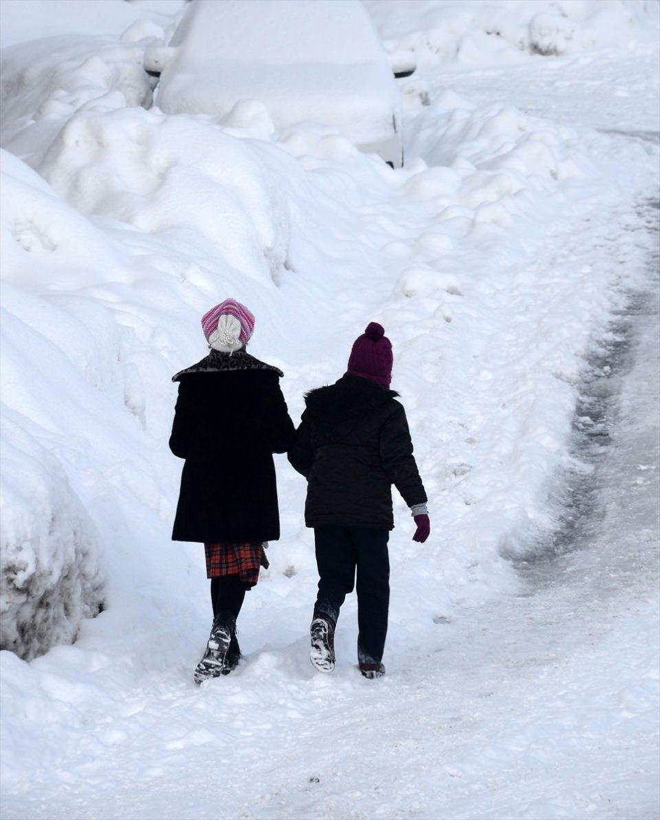 Türkiye'den kar manzaraları 86
