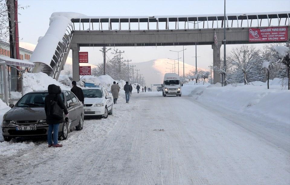 Türkiye'den kar manzaraları 87
