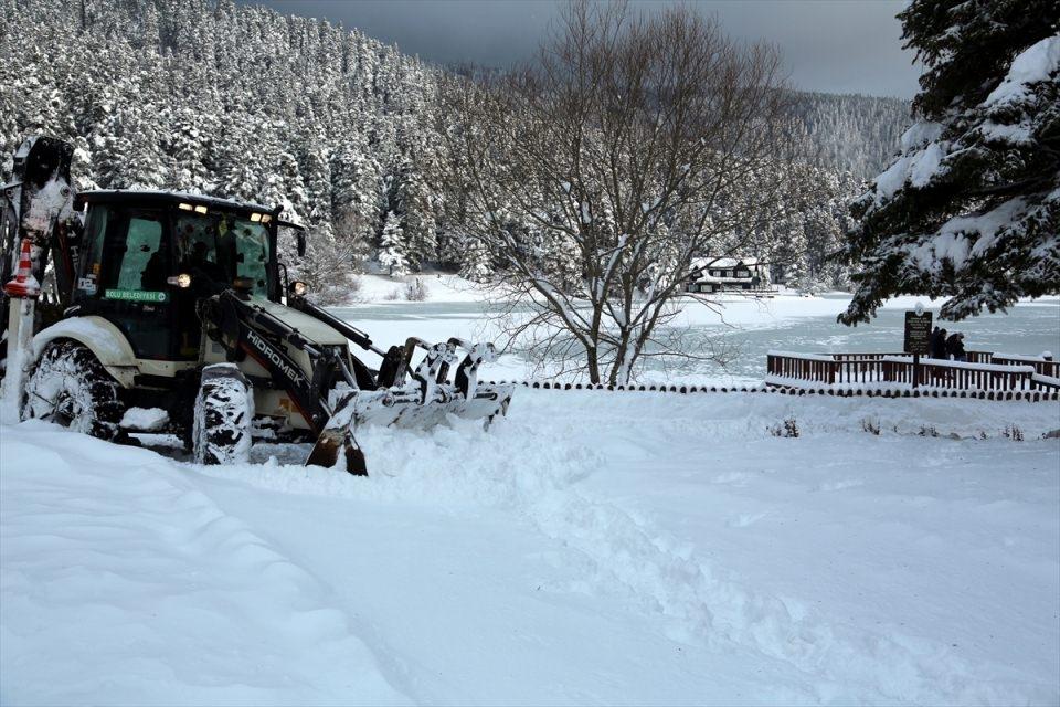 Türkiye'den kar manzaraları 89