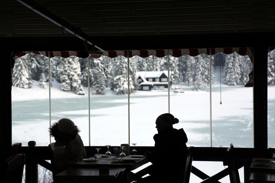 Türkiye'den kar manzaraları 90